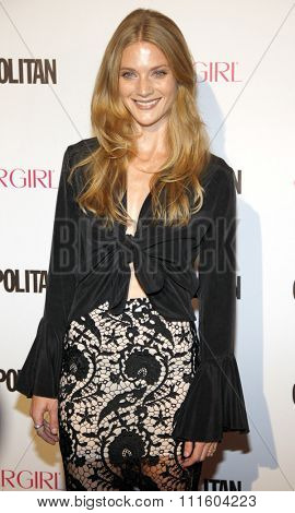 Winter Ave Zoli at the Cosmopolitan's 50th Birthday Celebration held at the Ysabel in West Hollywood, USA on October 12, 2015.