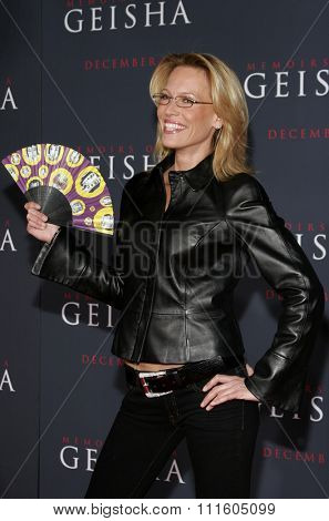 Sam Phillips attends The DreamWorks SKG and Sony Pictures Premiere of