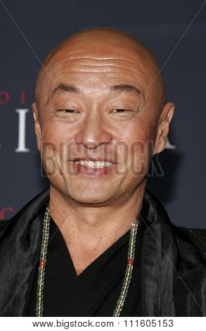 Cary Tagawa attends The DreamWorks SKG and Sony Pictures Premiere of