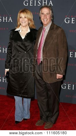 Henry Winkler attends The DreamWorks SKG and Sony Pictures Premiere of