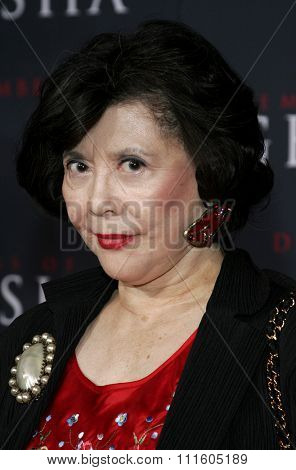 Tsai Chin  attends The DreamWorks SKG and Sony Pictures Premiere of