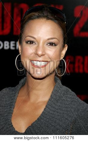 BUENA PARK, CALIFORNIA. October 8, 2006. Eva LaRue attends the World Premiere of