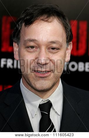 BUENA PARK, CALIFORNIA. October 8, 2006. Sam Raimi attends the World Premiere of