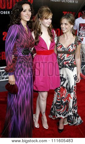 BUENA PARK, CALIFORNIA. October 8, 2006. Jennifer Beals, Amber Tamblyn and Sarah Michelle Gellar at the World Premiere of