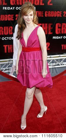 BUENA PARK, CALIFORNIA. October 8, 2006. Amber Tamblyn attends the World Premiere of