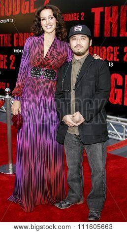 10/08/2006 - Buena Park - Jennifer Beals and Takashi Shimizu attend the World Premiere of