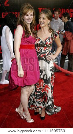 10/08/2006 - Buena Park - Amber Tamblyn, and Sarah Michelle Gellar attend the World Premiere of
