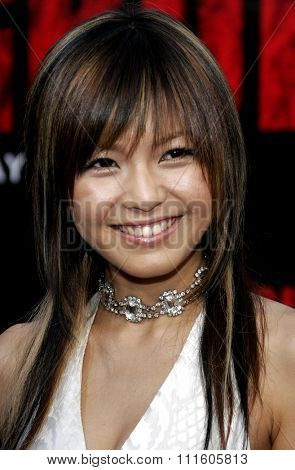 10/08/2006 - Buena Park - Misako Uno attends the World Premiere of