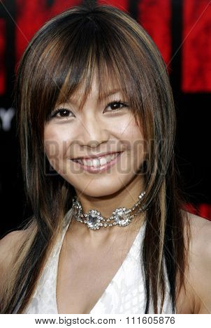 10/08/2006 - Buena Park - Misako Uno attends the World Premiere of