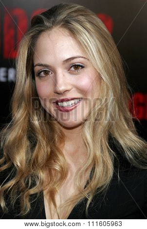 10/08/2006 - Buena Park - Brooke Nevin at the World Premiere of