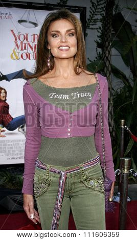 11/20/2005 - Hollywood - Tracy Scoggings and wife Celeste at the