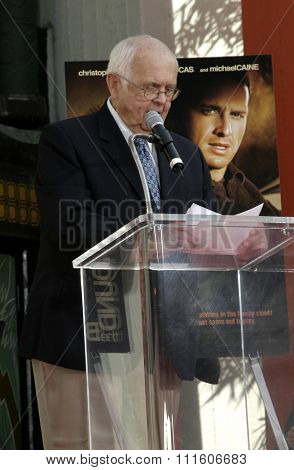 Johnny Grant at Christopher Walken Honored With A Hand & Footprints Ceremony held at the Grauman's Chinese Theatre in Hollywood, USA on October 8, 2004.