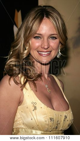 BEVERLY HILLS. CALIFORNIA. April 28, 2005. Sharon Case attends The 9th Annual PRISM Awards The Beverly Hills Hotel in Beverly Hills, California, United States.