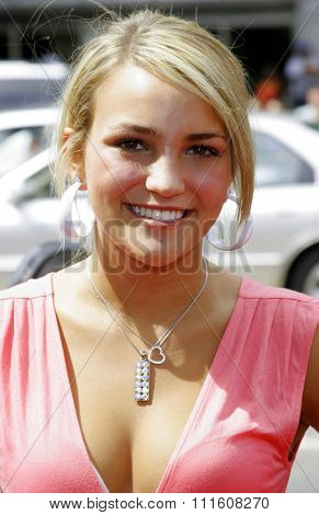 HOLLYWOOD, CALIFORNIA. July 30, 2006. Jamie Lynn Spears attends the World Premiere of