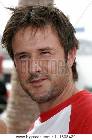 HOLLYWOOD, CALIFORNIA. July 30, 2006. David Arquette attends the World Premiere of
