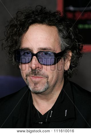 10/16/2006 - Hollywood - Tim Burton attends the World Premiere of