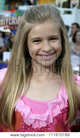 HOLLYWOOD, CALIFORNIA - June 13 2005. Jenna Boyd attends at the