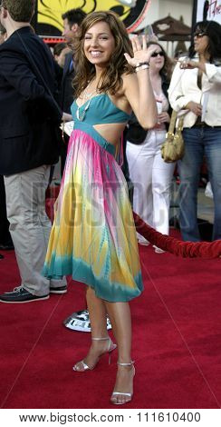 HOLLYWOOD, CALIFORNIA - June 13 2005. Vanessa Lengies attends at the