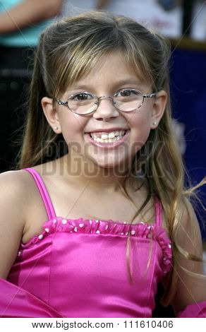 HOLLYWOOD, CALIFORNIA - June 13 2005. Aria Wallace attends at the