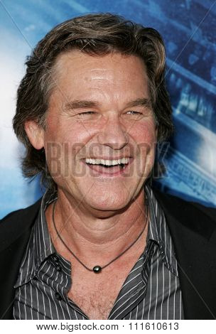 HOLLYWOOD, CALIFORNIA. May 10, 2006. Kurt Russell attends the Los Angeles Premiere of