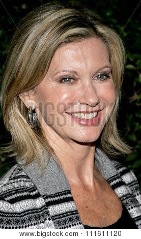Olivia Newton-John at the Los Angeles premiere of 'The Producers' held at the Westfield Century City in Century City, USA on December 12, 2005.