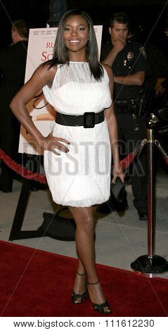 BEVERLY HILLS, CALIFORNIA. October 10, 2006. Gabrielle Union at the World Premiere of
