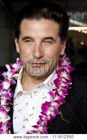 William Baldwin arrives to the World Premiere of