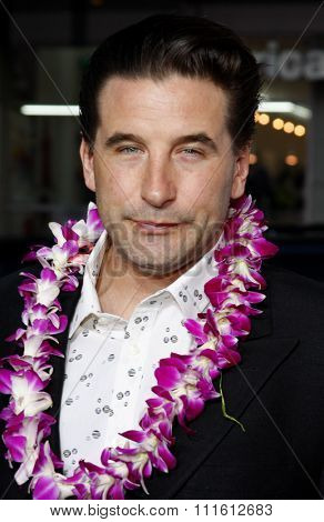 April 10, 2008. William Baldwin attends the World Premiere of