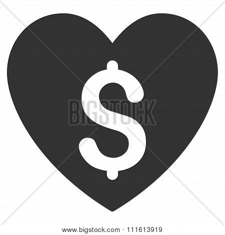 Paid Love Icon