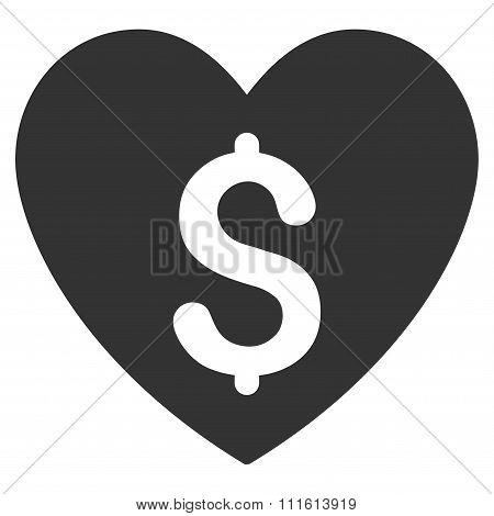 Paid Love Icon