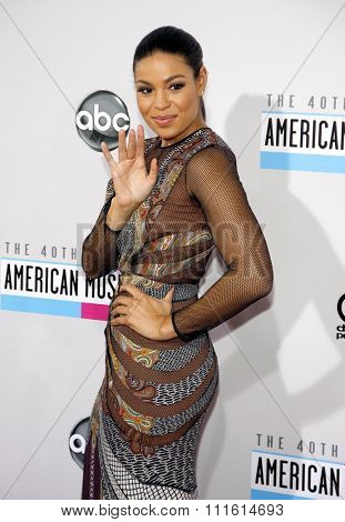 Jordin Sparks at the 2012 American Music Awards held at the Nokia Theatre L.A. Live in Los Angeles, USA on November 18, 2012.