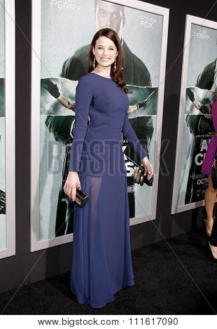Rachel Nichols at the Los Angeles premiere of 'Alex Cross' held at the ArcLight Cinemas in Los Angeles, USA on October 15, 2012.