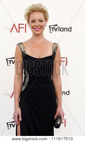 Katherine Heigl at the AFI Life Achievement Award Honoring Shirley MacLaine held at the Sony Studios in Los Angeles, USA on June 7, 2012.