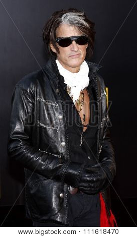 Joe Perry at the 2009 American Music Awards at Nokia Theatre L.A. Live in Los Angeles, USA on November 22, 2009.