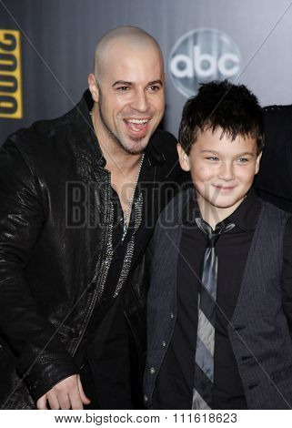 Chris Daughtry at the 2009 American Music Awards at Nokia Theatre L.A. Live in Los Angeles, USA on November 22, 2009.