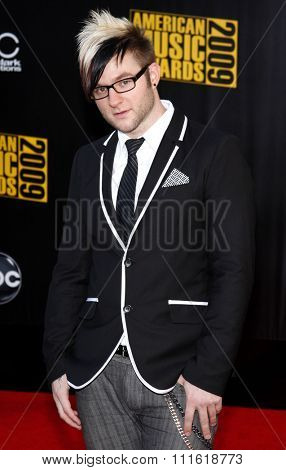 Blake Lewis at the 2009 American Music Awards at Nokia Theatre L.A. Live in Los Angeles, USA on November 22, 2009.