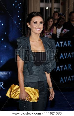 Audrina Patridge at the Los Angeles premiere of 'Avatar' held at the Grauman's Chinese Theatre in Hollywood, USA on December 16, 2009.
