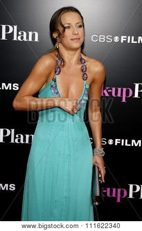 Edyta Sliwinska at the Los Angeles premiere of