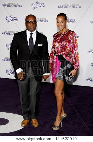 Antonio Reid aka L.A. Reid at the Los Angeles Premiere of