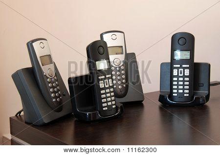 Phones On Holders