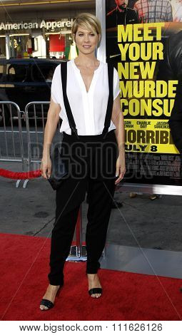 HOLLYWOOD, CALIFORNIA - June 30, 2011. Jenna Elfman at the Los Angeles premiere of