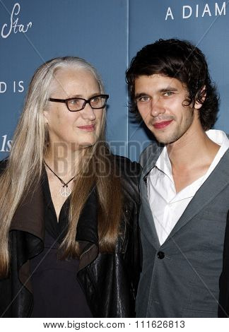 Jane Campion and Ben Whishaw at the Los Angeles Premiere of