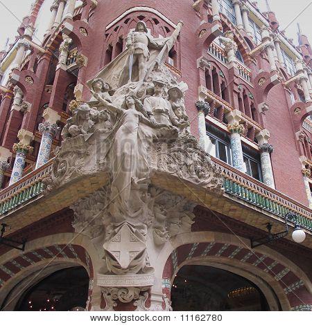 Palau De La Musica Catalana World Heritage Site
