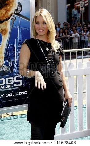 HOLLYWOOD, CALIFORNIA - July 25, 2010. Christina Applegate at the Los Angeles premiere of