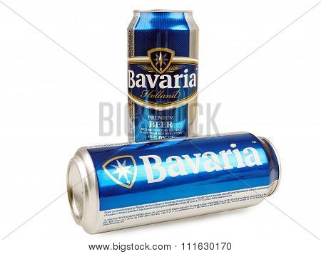 Bavaria Beer Cans