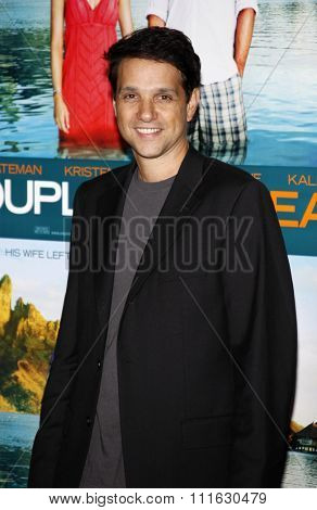 WESTWOOD, CALIFORNIA - October 5, 2009. Ralph Macchio at the Los Angeles premiere of