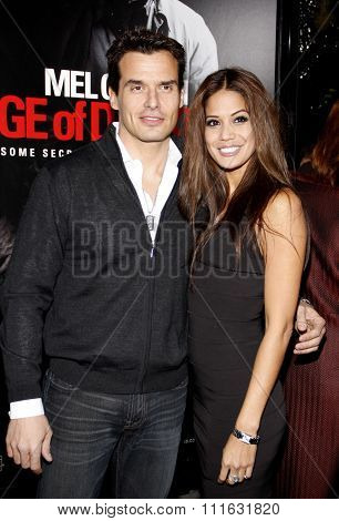 HOLLYWOOD, CALIFORNIA - January 26, 2010. Antonio Sabato Jr. at the Los Angeles premiere of