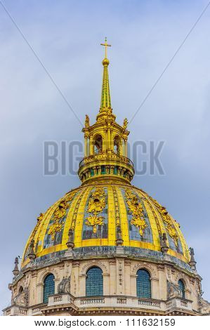 Dome of Les Invalides, Paris, France