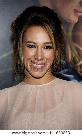 HOLLYWOOD, CALIFORNIA - February 1, 2010. Haylie Duff at the World premiere of