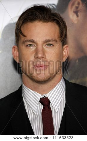 HOLLYWOOD, CALIFORNIA - February 1, 2010. Channing Tatum at the World premiere of